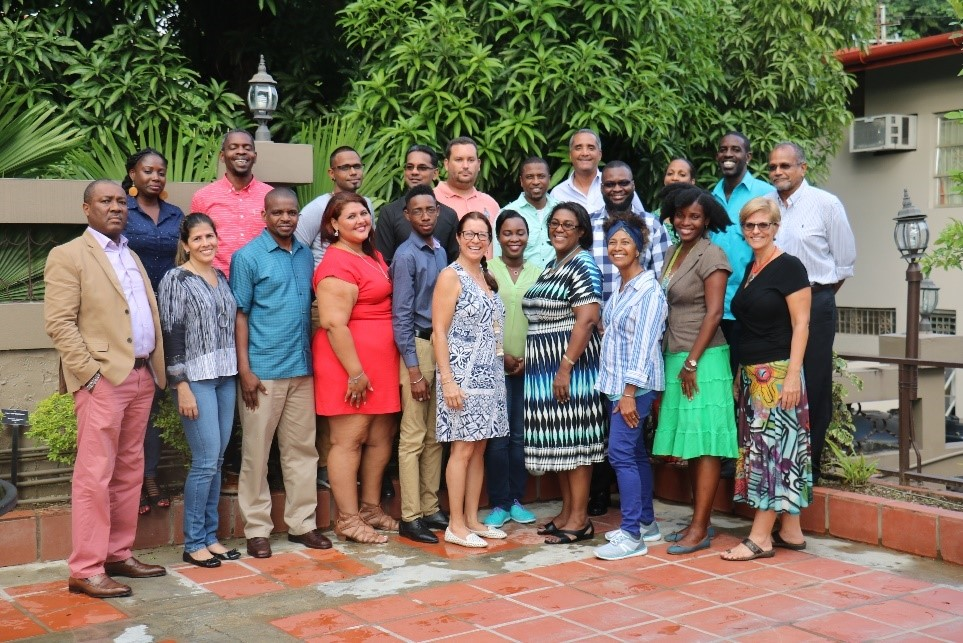 Participants from the regional workshop to develop the CLME+ Civil Society Action Programme (C-SAP)